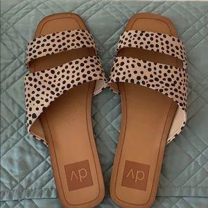 LIKE NEW Leopard Sandals